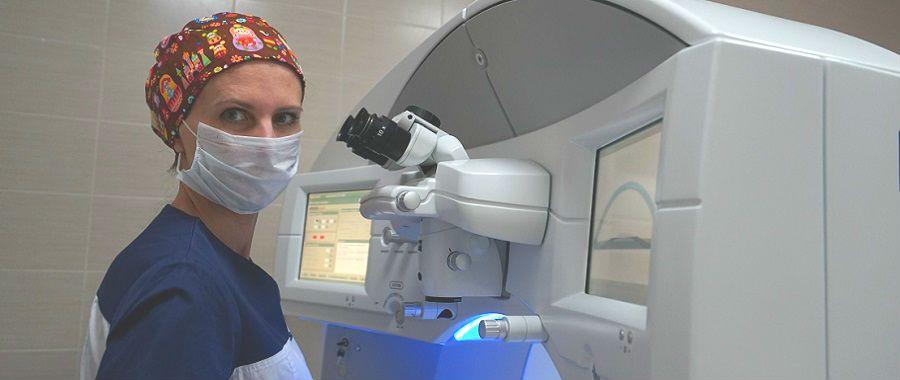 Цена лечения глаукомы лазером