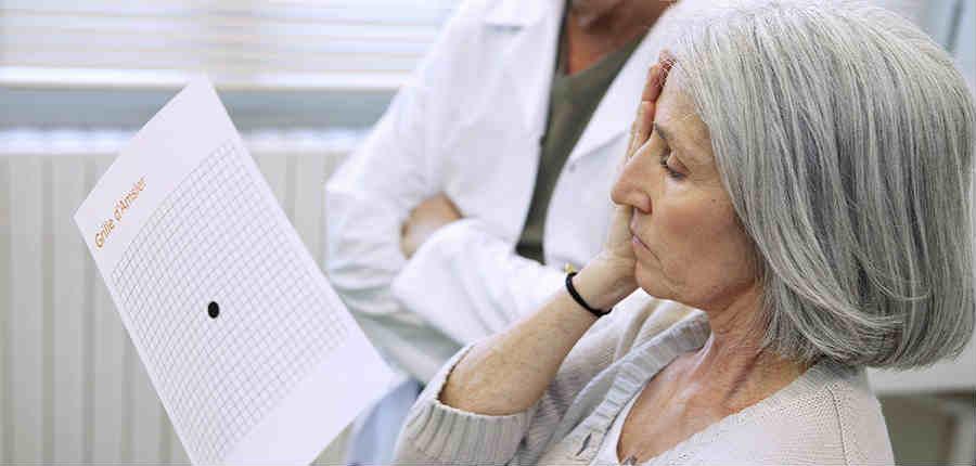 Диагностика возрастной макулярной дегенерации