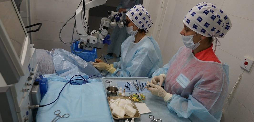 Лечение катаракты лазером цены
