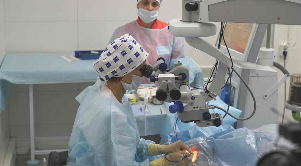 Лечение ретиношизиса сетчатки цена