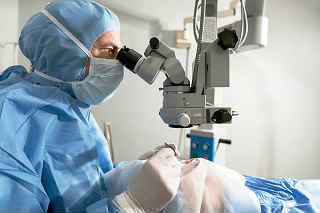 Лечение катаракты клиники