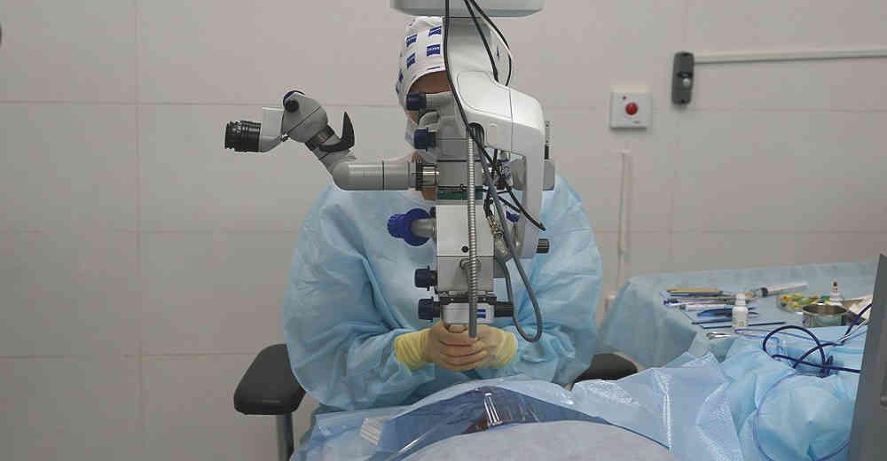 Лечение буллезной кератопатии