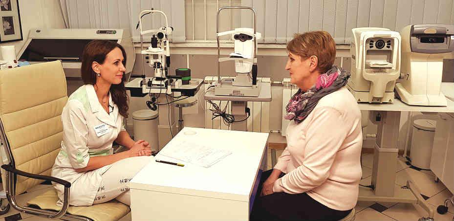 Лечение вспышек в глазах лечение в Москве цена