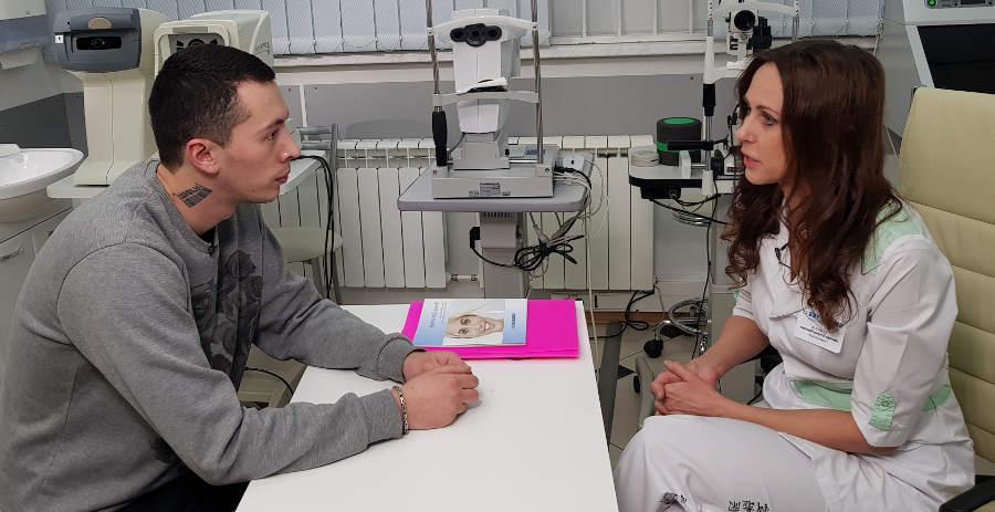 После операции передней рефракционнй кератотомии - улучшить зрение