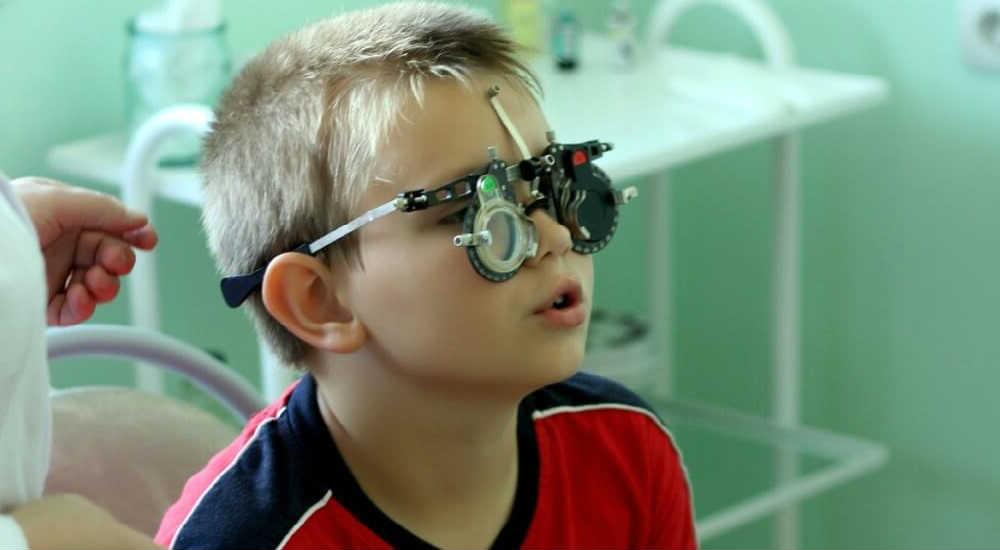 Обследование зрения у ребенка цена