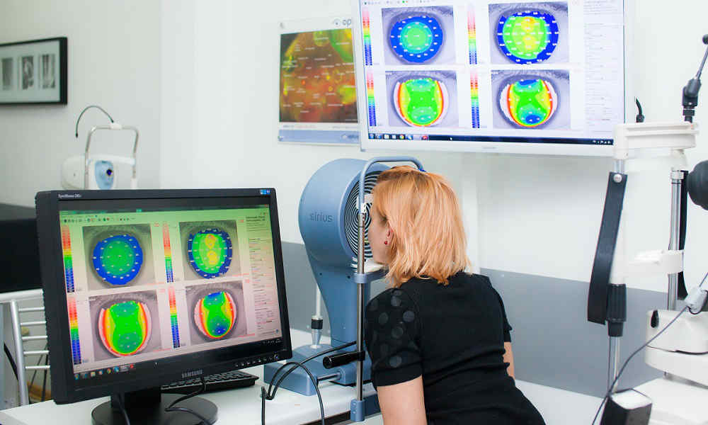 Диагностика и лечение миопического конуса