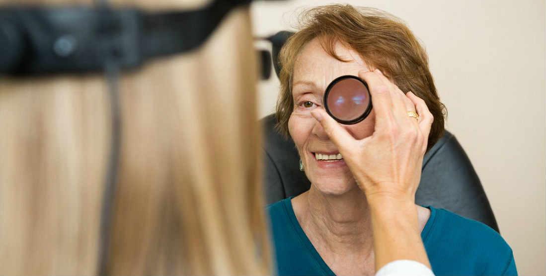 Диагностика закрытоугольной глаукомы