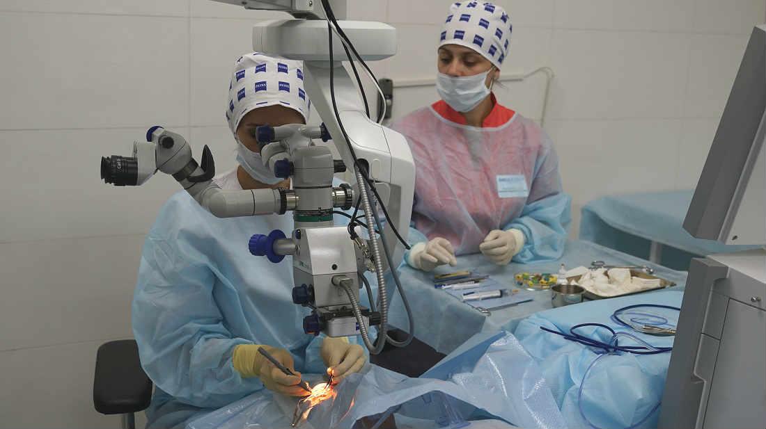 Операция при глаукоме цена